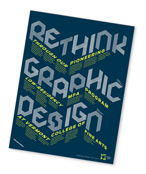 Rethink Graphic Design at Vermont College of Fine Arts