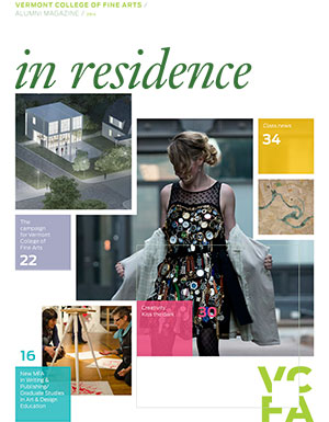 Alumni Magazine 'in residence'