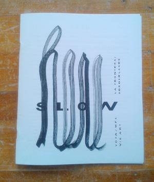 The MFA in Visual Art 'zine 'Here'